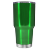 2018 Graduation Cap Monogram on Translucent Green 30 oz Tumbler Cup