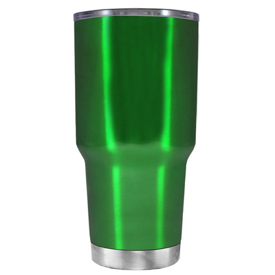 Class of 2018 on Translucent Green 30 oz Graduation Tumbler