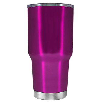 Be a Mermaid and Make Waves on Translucent Pink 30 oz Tumbler Cup