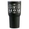 RTIC 30 oz Some People Call Me Country on Black Matte Tumbler