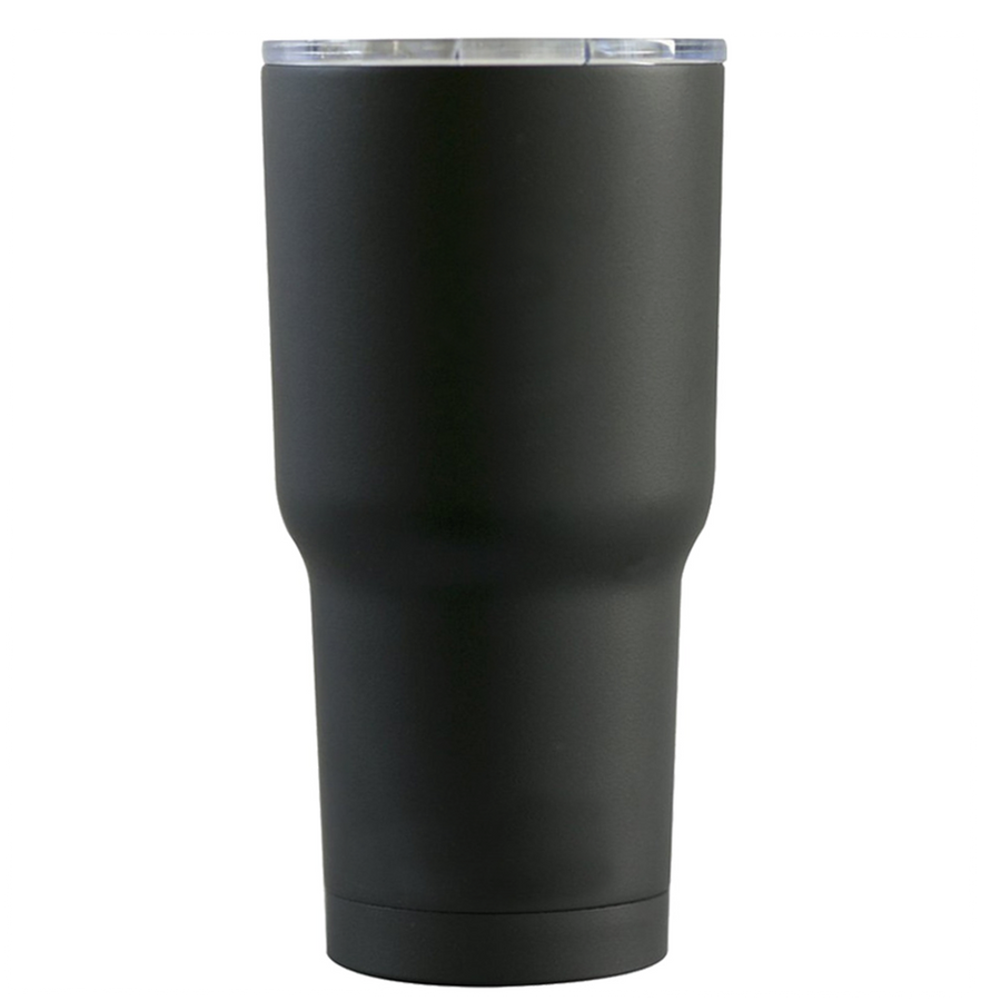 RTIC 30 oz Masked Blessed are the Peacemakers on Black Matte Tumbler