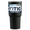 Custom RTIC 30 oz Black Matte Design Your Own Tumbler