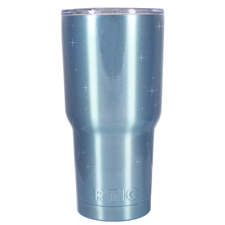RTIC Blue Princess Glitter 20 oz Tumbler