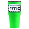Custom RTIC 30 oz Neon Green Gloss Design Your Own Tumbler