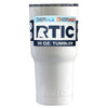 Custom RTIC 30 oz White Gloss Design Your Own Tumbler