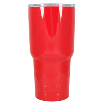 Custom RTIC 30 oz Red Gloss Design Your Own Tumbler