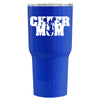 RTIC Cheer Mom on Blue Gloss 30 oz Tumbler - TrekTumblers