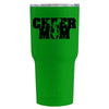 RTIC Cheer Mom on Green Gloss 30 oz Tumbler - TrekTumblers