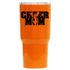 RTIC Cheer Mom on Orange Gloss 30 oz Tumbler - TrekTumblers