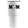 RTIC Soccer Mom on White Gloss 30 oz Tumbler