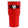 RTIC Soccer Mom on Red Gloss 30 oz Tumbler