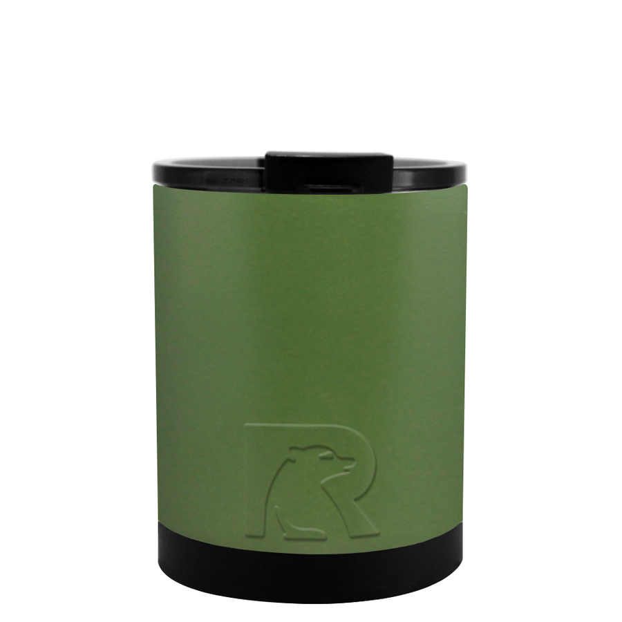 Custom RTIC Army Green 12 oz Lowball Tumbler