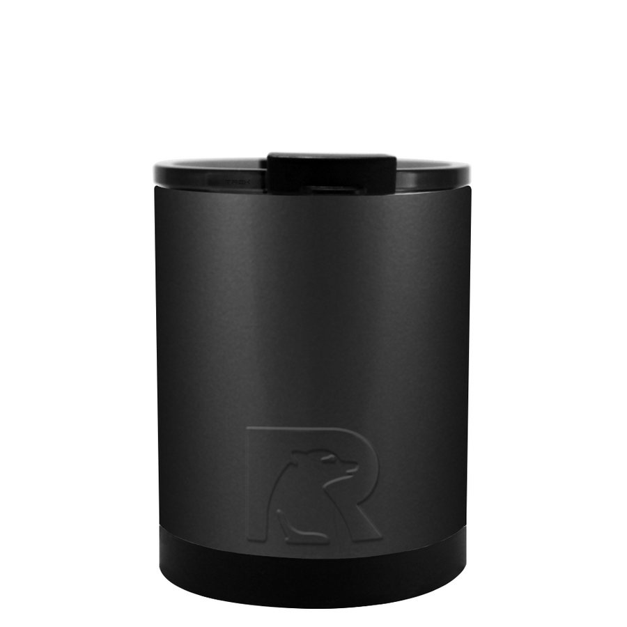 Custom RTIC Black Matte 12 oz Lowball Tumbler