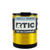 RTIC Gold Translucent 12 oz Lowball Tumbler