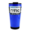 RTIC Blue Gloss 16 oz Pint Tumbler