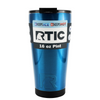RTIC Blue Translucent 16 oz Pint Tumbler