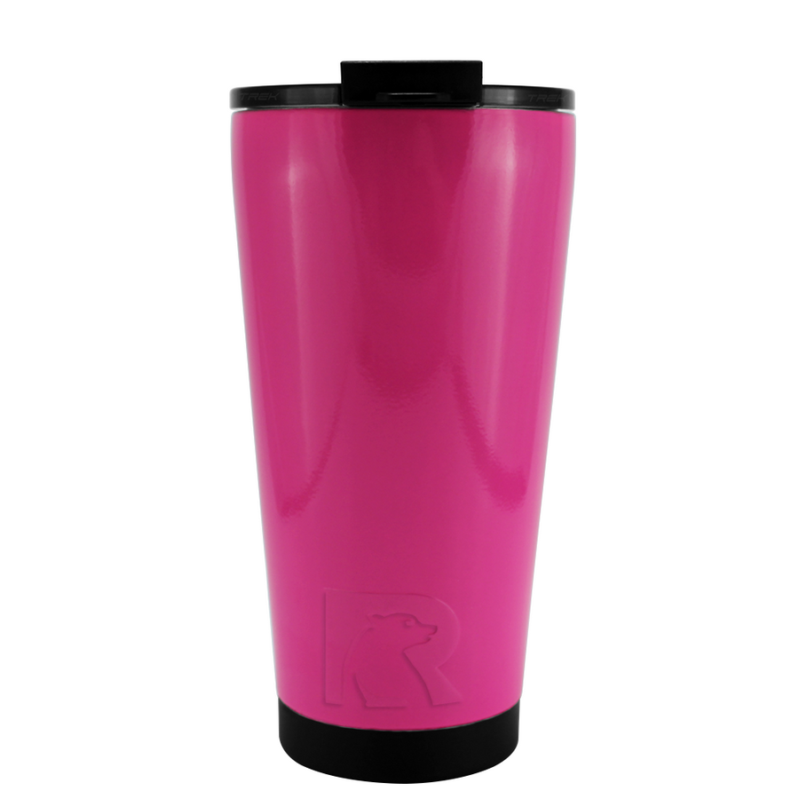 RTIC Bright Pink Gloss 16 oz Pint Tumbler