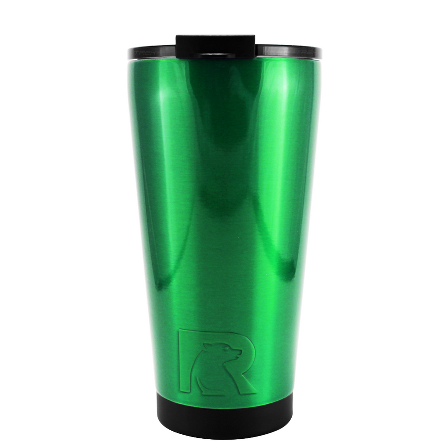 RTIC Green Translucent 16 oz Pint Tumbler
