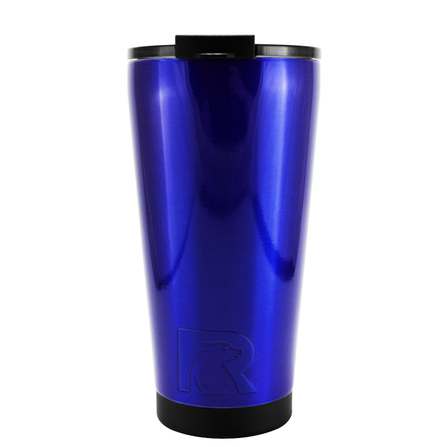 RTIC Intense Blue Translucent 16 oz Pint Tumbler