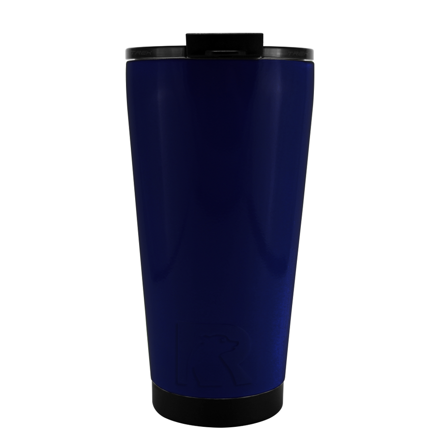 RTIC Navy Gloss 16 oz Pint Tumbler