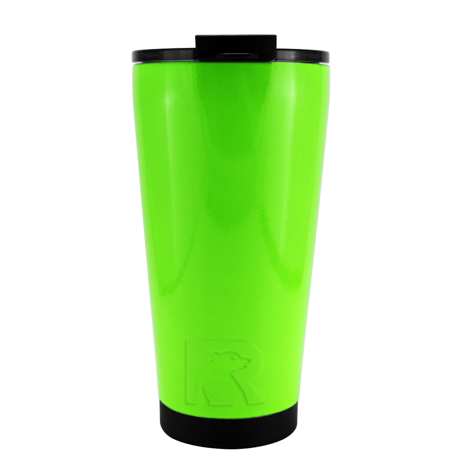 RTIC Neon Green Gloss 16 oz Pint Tumbler