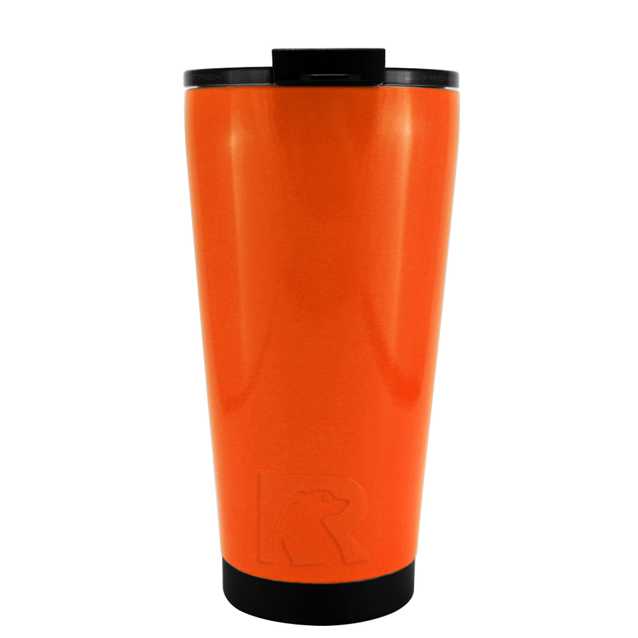 RTIC Orange Gloss 16 oz Pint Tumbler