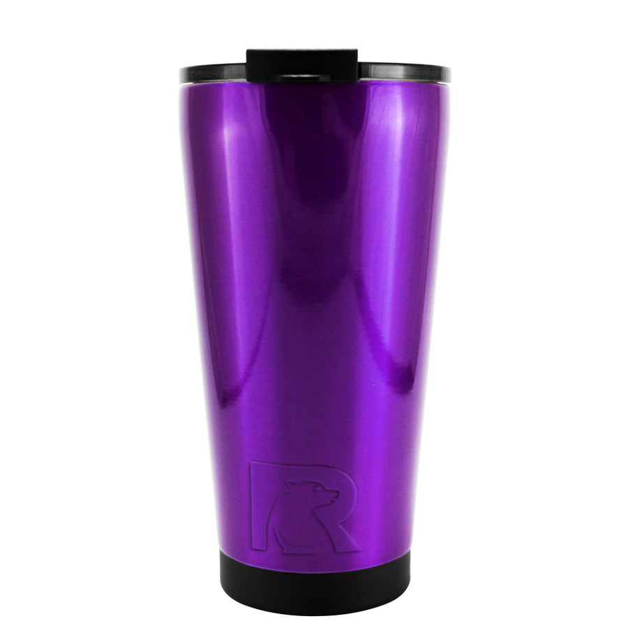 RTIC Purple Translucent 16 oz Pint Tumbler