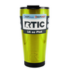 RTIC Psycho Yellow Translucent 16 oz Pint Tumbler