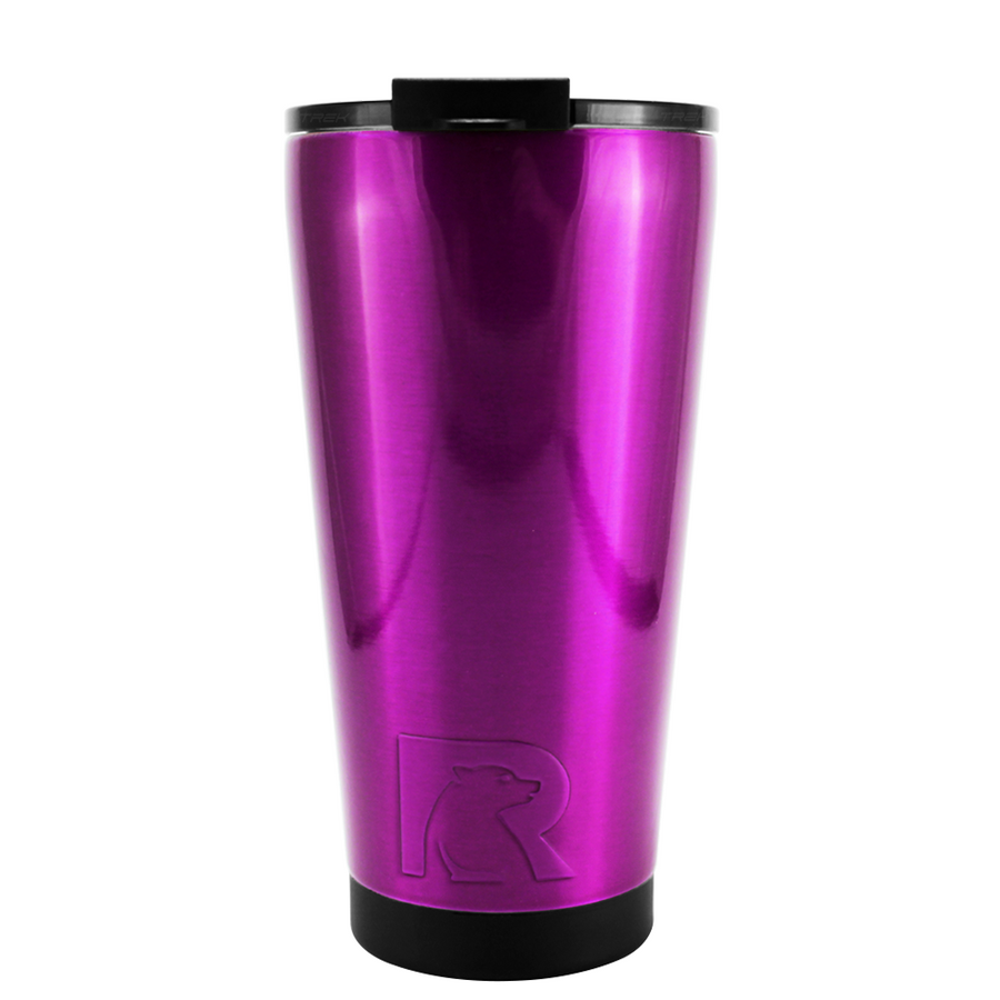 RTIC Raspberry Translucent 16 oz Pint Tumbler