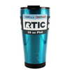 RTIC Teal Translucent 16 oz Pint Tumbler