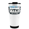 RTIC White Gloss 16 oz Pint Tumbler
