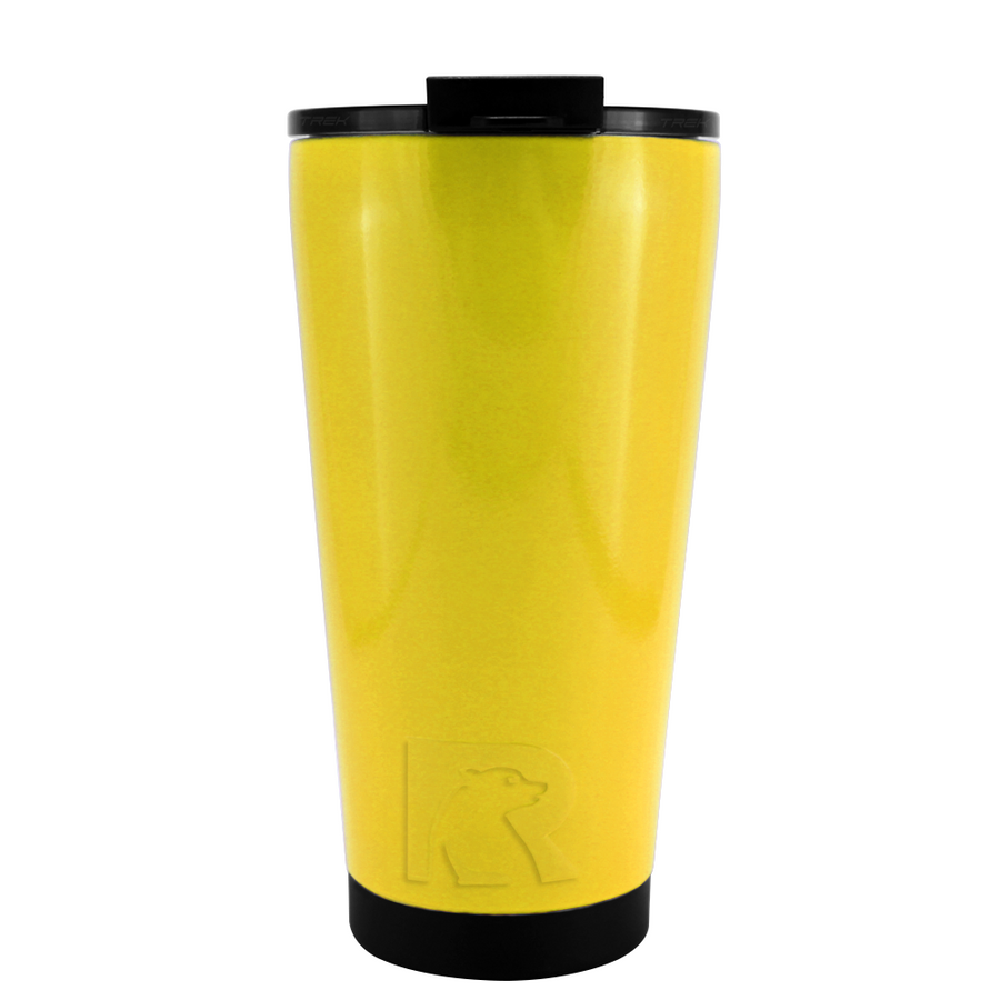 RTIC Yellow Gloss 16 oz Pint Tumbler