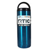RTIC Blue Translucent 18 oz Bottle - TrekTumblers