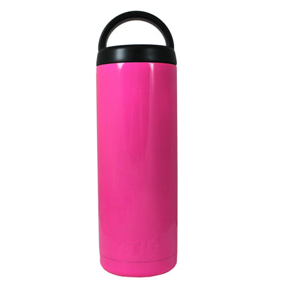 RTIC Hot Pink Gloss 18 oz Bottle - TrekTumblers
