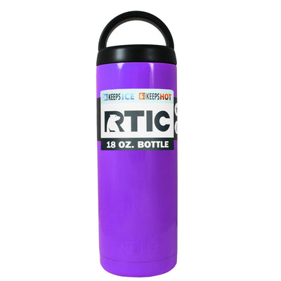 RTIC Purple Gloss 18 oz Bottle - TrekTumblers