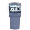 Custom RTIC 20 oz Periwinkle Gray Design Your Own Tumbler