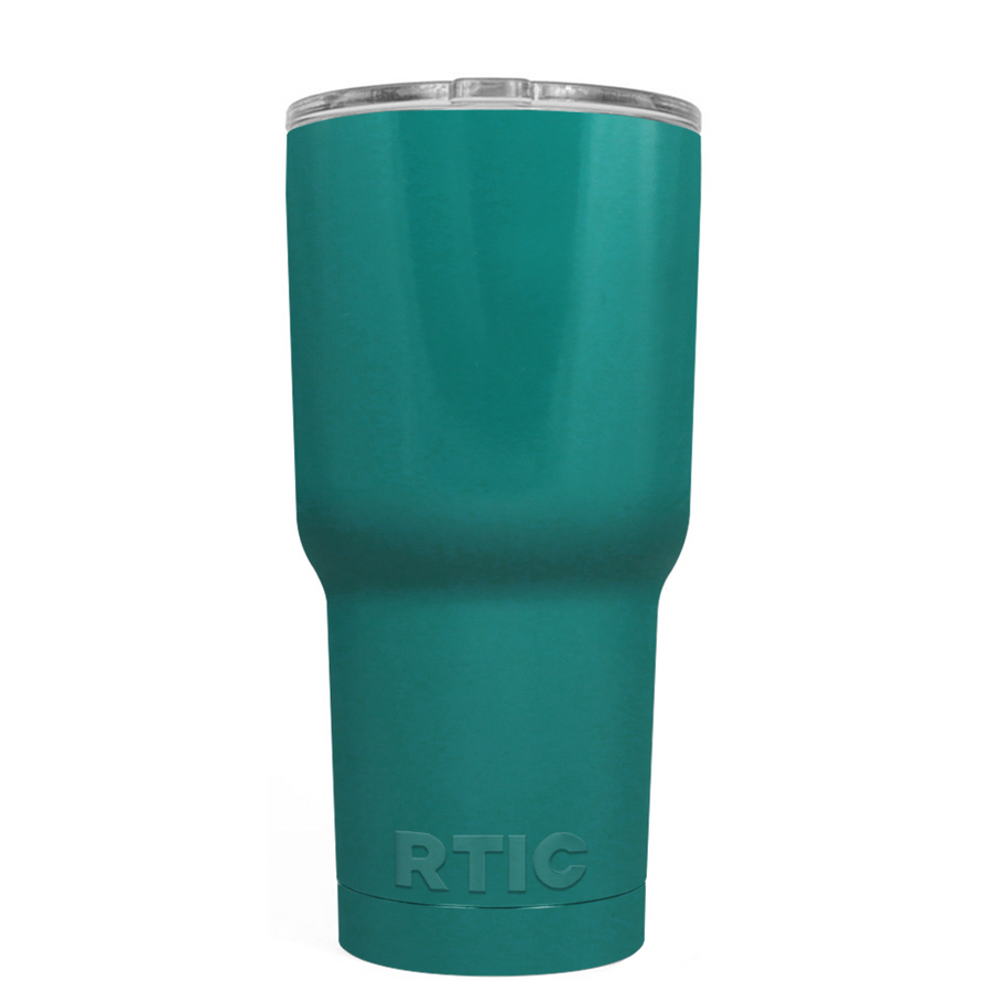 Custom RTIC 20 oz Aqua Blue Design Your Own Tumbler