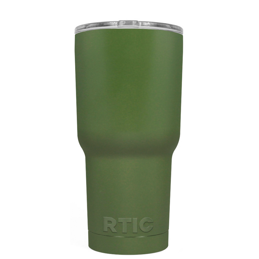 Custom RTIC 20 oz Army Green Design Your Own Tumbler