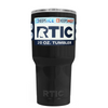 Custom RTIC 20 oz Black Gloss Design Your Own Tumbler