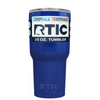 Custom Designed RTIC Blue Gloss 20 oz Tumbler