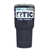 Custom RTIC 20 oz Blue Gray Design Your Own Tumbler