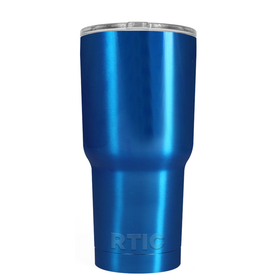 RTIC Blue Translucent 20 oz Tumbler
