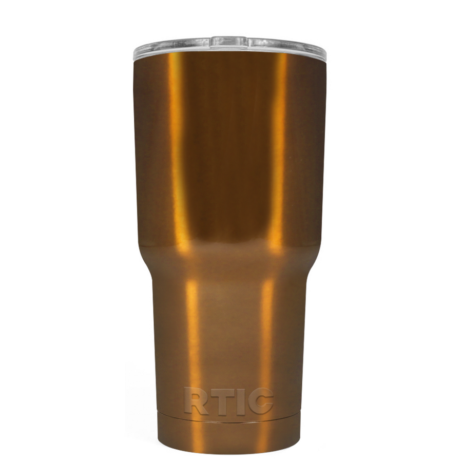 RTIC Copper Metallic 20 oz Tumbler