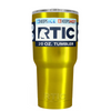 RTIC Gold Translucent 20 oz Tumbler