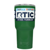 Custom RTIC 20 oz Green Gloss Design Your Own Tumbler