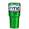 RTIC Green Translucent 20 oz Tumbler