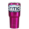 RTIC Hot Pink Translucent 20 oz Tumbler