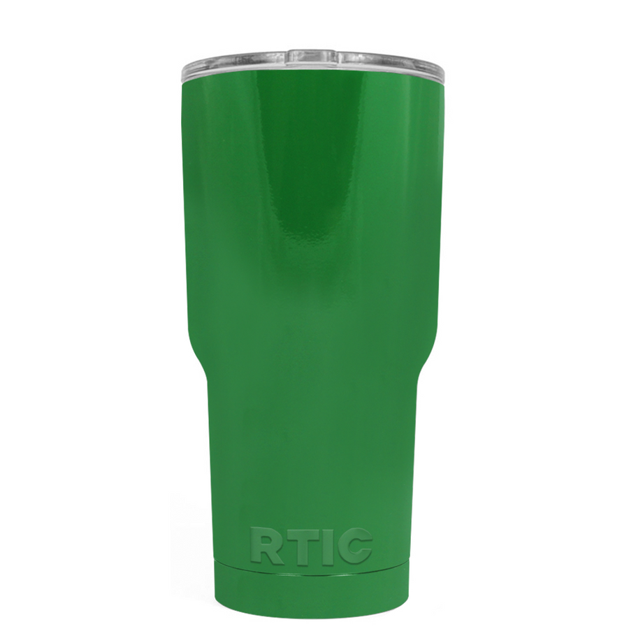 Custom RTIC 20 oz Kelly Green Design Your Own Tumbler