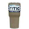 Custom RTIC 20 oz Khaki Design Your Own Tumbler