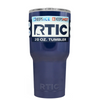 Custom RTIC 20 oz Navy Blue Design Your Own Tumbler
